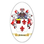 Feddema Sticker (Oval 50 pk)