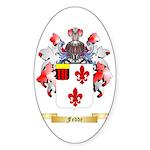 Fedde Sticker (Oval 10 pk)