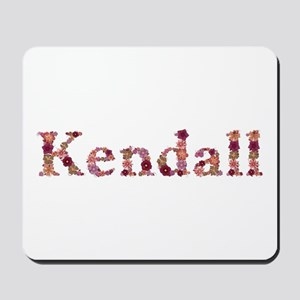 Kendall Pink Flowers Mousepad