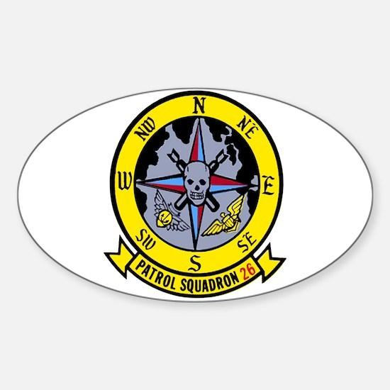 VP 26 Tridents Sticker (Oval)