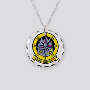 VP 26 Tridents Necklace Circle Charm
