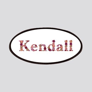Kendall Pink Flowers Patch