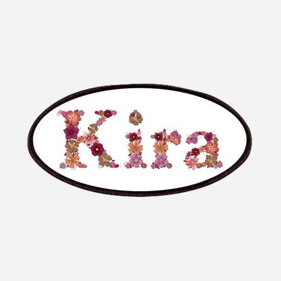 Kira Pink Flowers Patch