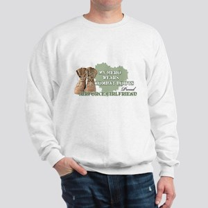 My Hero Wears Combat Boots-Ai Sweatshirt