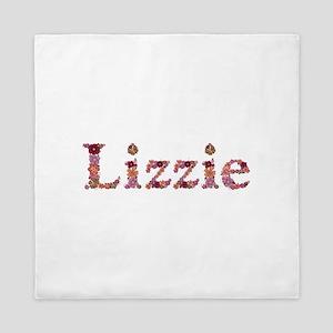 Lizzie Pink Flowers Queen Duvet