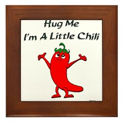 Hug Me Framed Tile