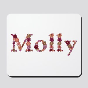 Molly Pink Flowers Mousepad