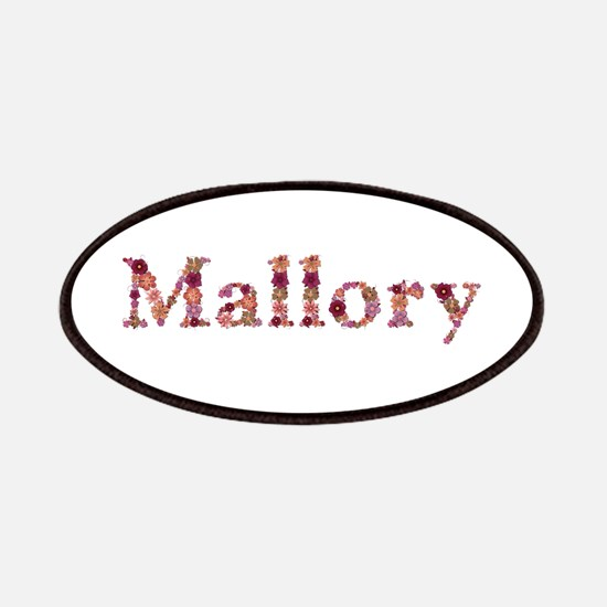 Mallory Pink Flowers Patch