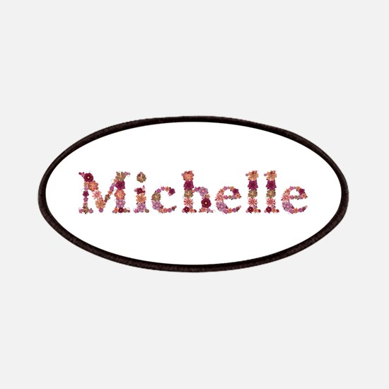 Michelle Pink Flowers Patch