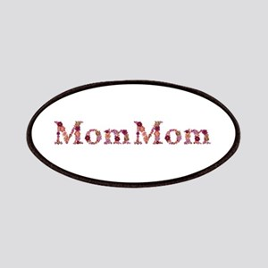 Mommom Pink Flowers Patch