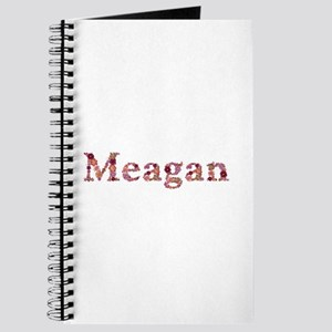 Meagan Pink Flowers Journal