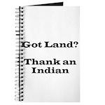 Got Land? Thank and Indian Journal