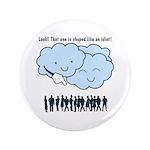 Cloud Mocks Human Shapes Funny Cartoon 3.5