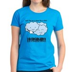 Cloud Mocks Human Shapes Funny Cartoon Women's Dar