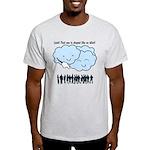 Cloud Mocks Human Shapes Funny Cartoon Light T-Shi