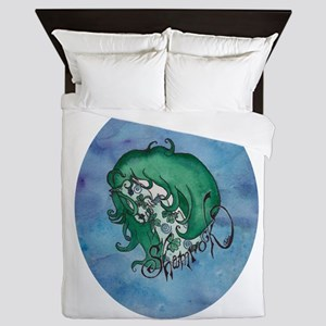 Shamrock Oval Queen Duvet