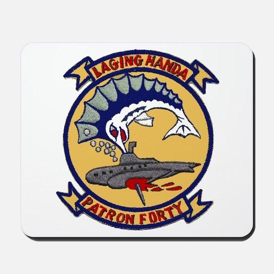 VP 40 Fighting Marlins Mousepad