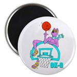 Ok-9 Inspiration (basketball) Magnet (100 Magnets