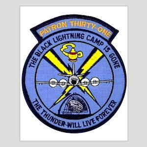 VP 31 Black Lightnings alternate Small Poster