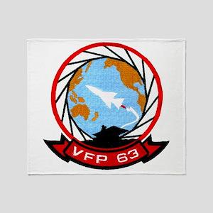 VFP 62 Eyes Throw Blanket