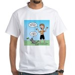 Timmy's Walk White T-Shirt