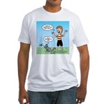 Timmy's Walk Fitted T-Shirt