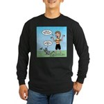 Timmy's Walk Long Sleeve Dark T-Shirt