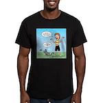 Timmy's Walk Men's Fitted T-Shirt (dark)