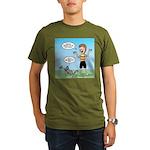 Timmy's Walk Organic Men's T-Shirt (dark)