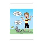 Timmy's Walk Mini Poster Print