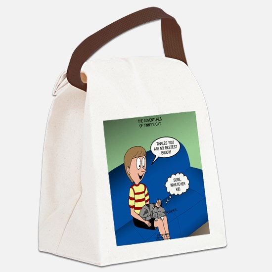 Timmys Bestest Buddy Canvas Lunch Bag
