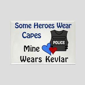 Kevlar Hero Rectangle Magnet