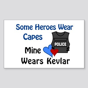 Kevlar Hero Rectangle Sticker