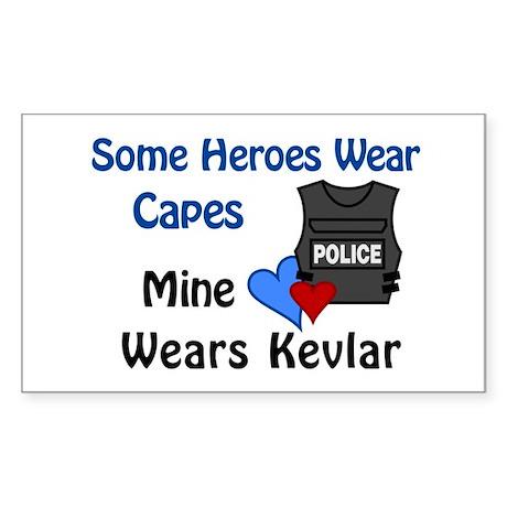 Kevlar Hero Rectangle Sticker