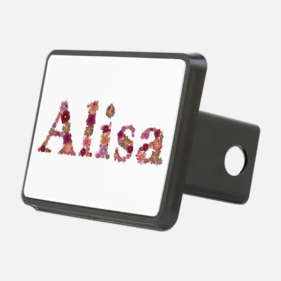 Alisa Pink Flowers Hitch Cover