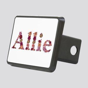 Allie Pink Flowers Rectangular Hitch Cover