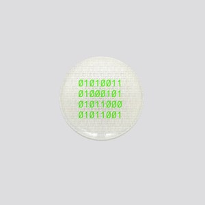 Binary SEXY Mini Button