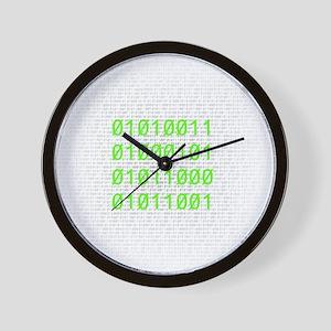 Binary SEXY Wall Clock