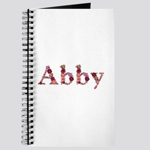 Abby Pink Flowers Journal