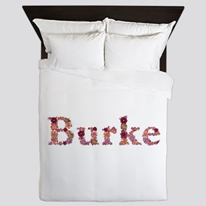 Burke Pink Flowers Queen Duvet