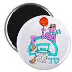 SABRA DOG(Basketball)Jewish Magnet (100 pk)