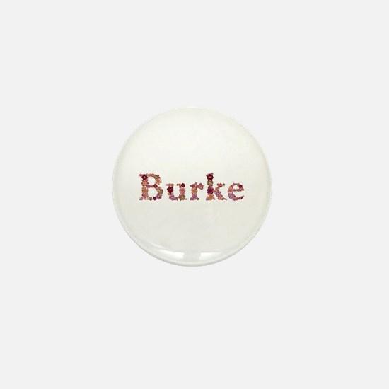 Burke Pink Flowers Mini Button