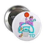 SABRA DOG(Basketball)Jewish Button