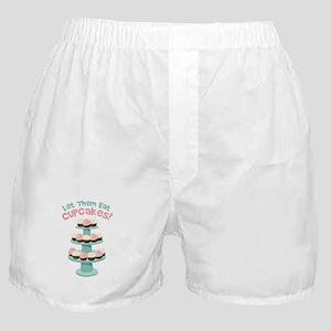 Let Them Eat Cupcakes! Boxer Shorts