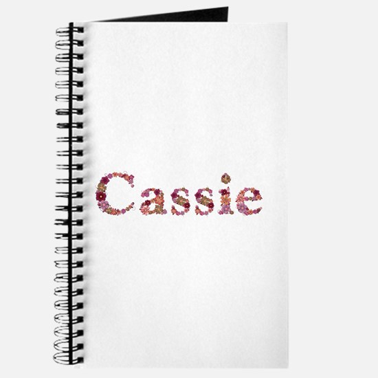 Cassie Pink Flowers Journal