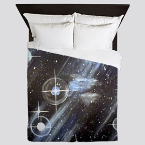 Outer Space Queen Duvet