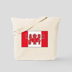 Canada Labor Day Tote Bag