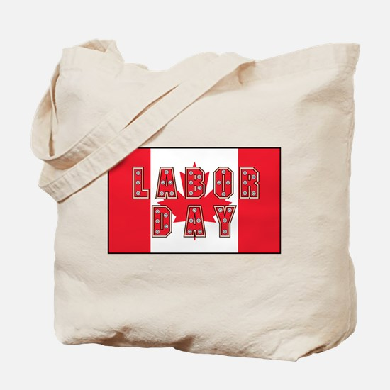 Canada Labor Day Tote Bag