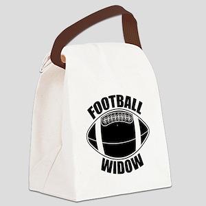 Football Widow Canvas Lunch Bag