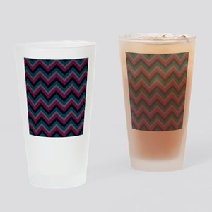Dark Masculine Colored Jags Drinking Glass